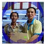 Anh Tuấn khách hàng mua máy chiếu tại Chothuemaychieugiare.net