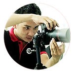 C-Photo khách hàng thuê máy chiếu tại TpHCM